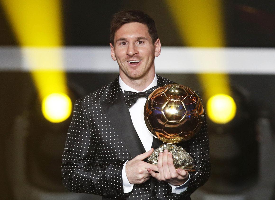 Messi volta a ganhar a Bola de Ouro